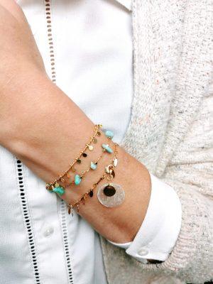 Bracelets portés